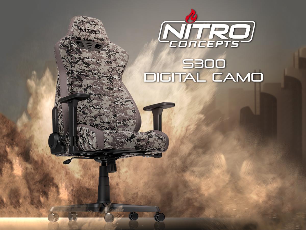 NITRO Concepts S300 DIGITAL CAMO