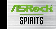 ASRock SPIRITS 付属エンブレム